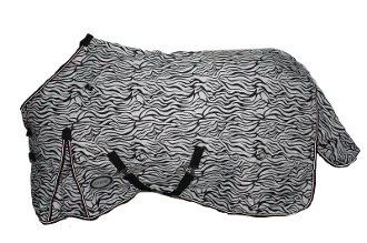 AXIOM 1800D Ballistic Zebra Super Tough 300g Blanket