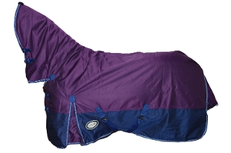 AXIOM 1800D Ballistic Nylon Purple/Navy 300g Combo Blanket