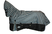 AXIOM 1800D Ballistic Nylon Tartan Green Black 300g CB Blanket