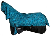 AXIOM 1800D Ballistic Nylon Irish Paisley 220g Combo Blanket